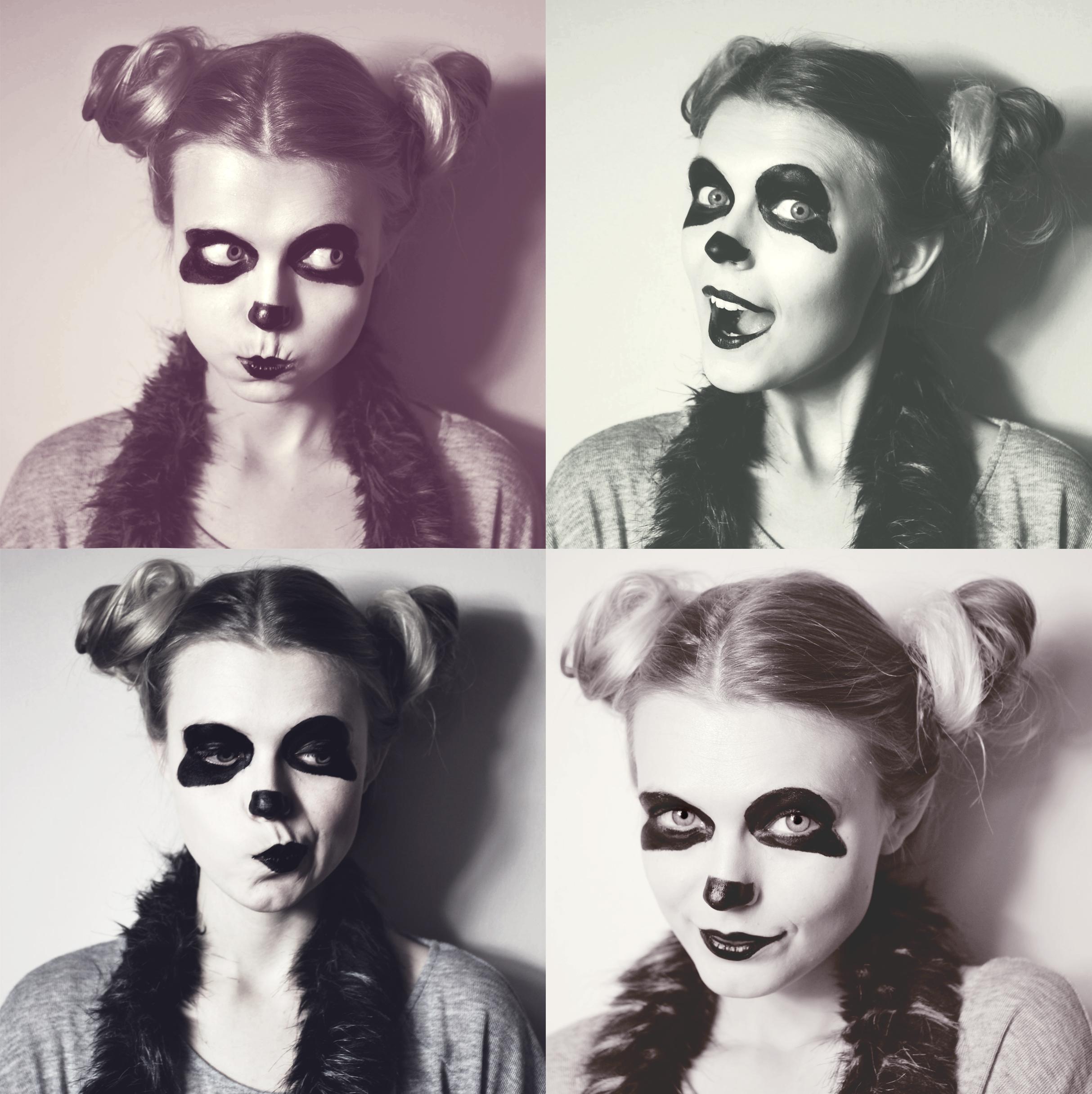 panda klaun