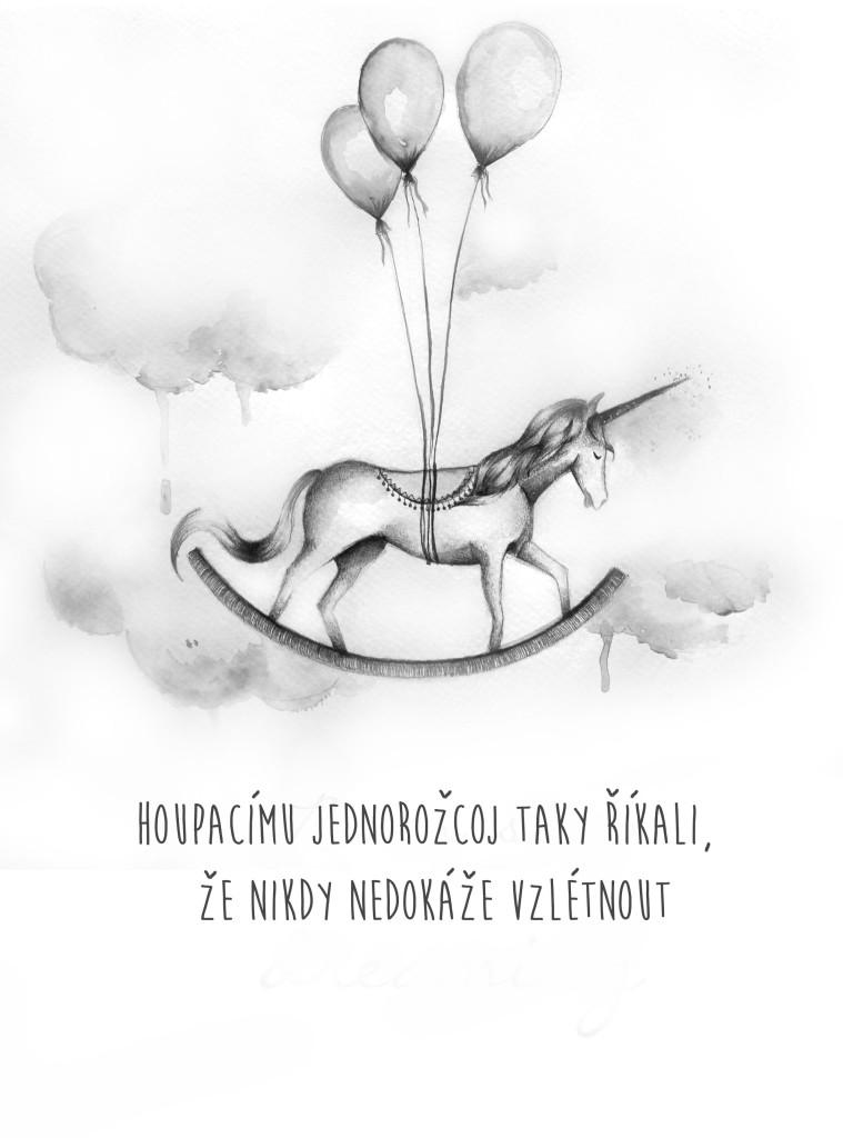 plakát 1- jednorožec text